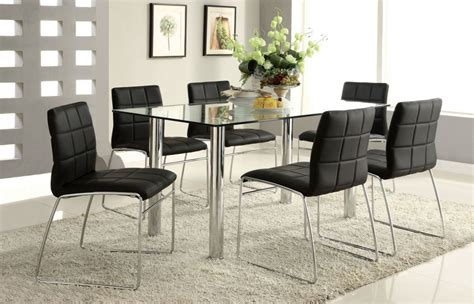 Glass Dining Room Tables Rectangular by Rectangle Glass Dining Tables Best Glass Dining Table