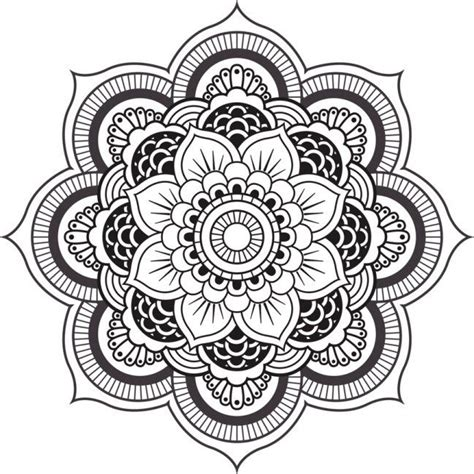 imagenes flor mandala 27 m 225 ndalas para colorear de flores de loto mandalas