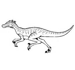 velociraptor coloring page free coloring pages of velociraptor