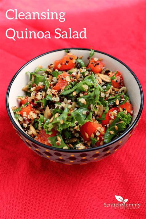 Detox Quinoa Salad Recipe by Cleansing Quinoa Salad Recipe