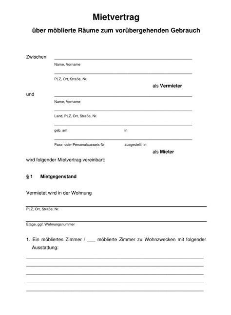 kuendigung mietvertrag vorlage kostenlos word kuendigung
