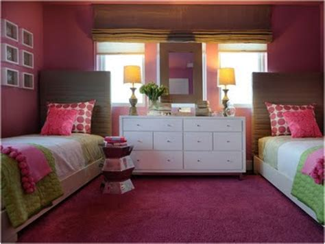 2 beds in 1 key interiors by shinay decorating girls room with two