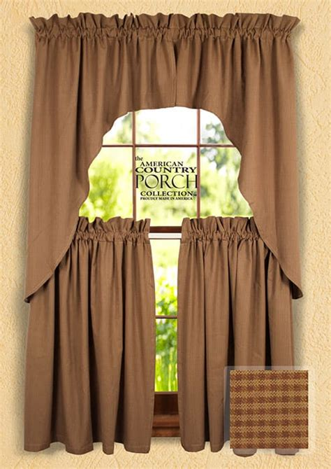 brown swag curtains brown swag curtains 28 images solid copper brown