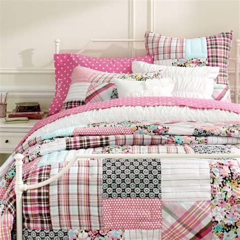 boho patchwork quilt sham pbteen