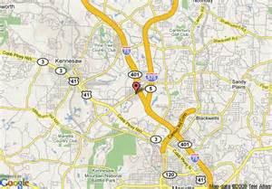 map of atlanta days inn kennesaw kennesaw