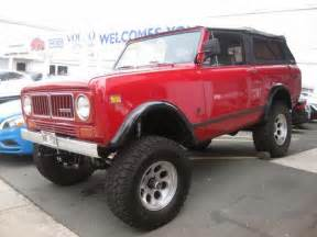 Jeep Scout For Sale 1973 International Scout For Sale 4x4 Cars