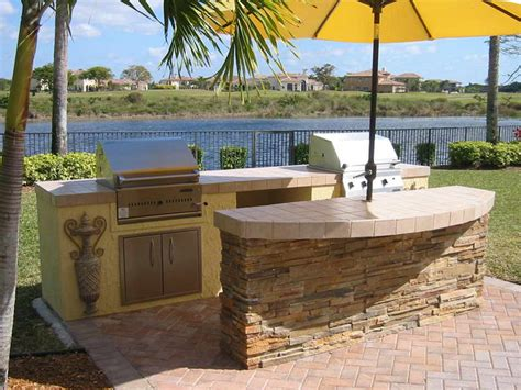outdoor kitchen island outdoor kitchen grill island backyard kitchen with