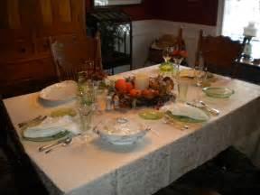 Thanksgiving Table Setup Sherri S Jubilee Thanksgiving Table Setting And Wedding