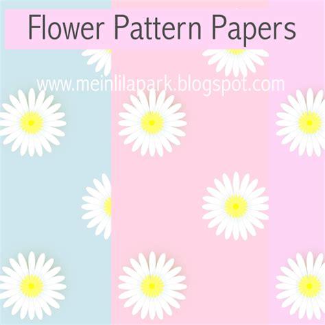daisy paper flower pattern free digital daisy flower scrapbooking papers