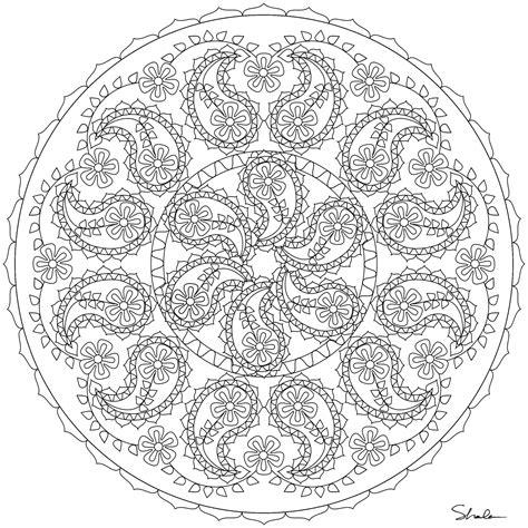 sand mandala coloring pages my fave things mandalas
