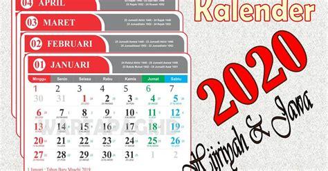 kalender  indonesia  lengkap tanggal hijriah