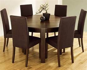 getting a round dining room table for 6 by your own