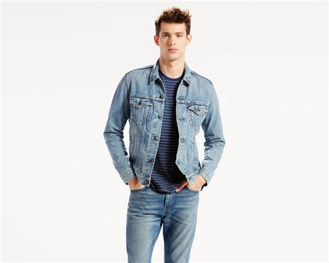 the trucker jacket icy levi s 174 great britain uk