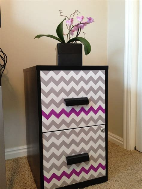contact paper desk makeover 17 best images about filing cabinet makeover on pinterest