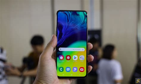 Samsung Galaxy A80 Malaysia by Samsung Galaxy A80 It S A Big Selfie Smartphone But It Sacrifices A Of Things