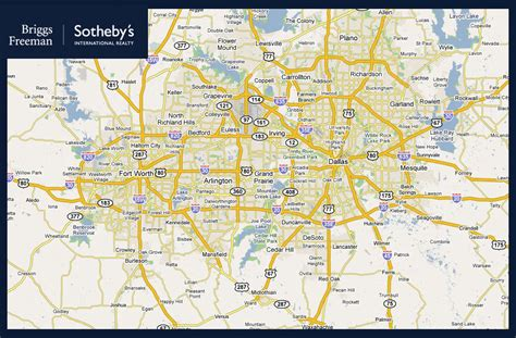 map of dallas dallas fort worth metro map travelquaz