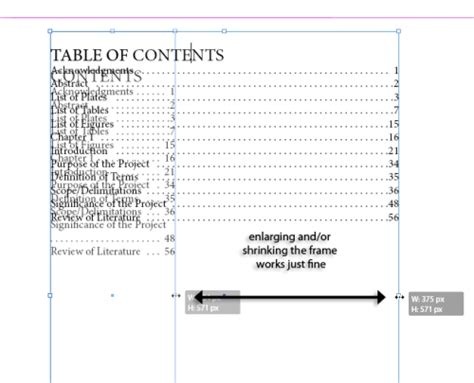 Table Of Contents Template Indesign by Creating A Simple Table Of Contents In Indesign Cs5