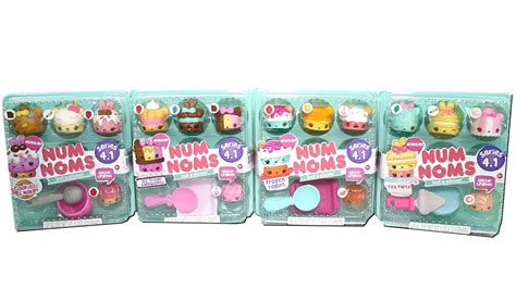 Num Noms Starter Pack Series 4 Cookies And Milk num noms series 4 1 starter pack unboxing review cookies tea frozen yogurt