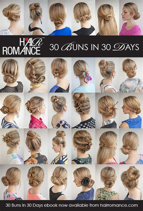 Hair Books by The 30 Buns In 30 Days Hairstyle Ebook Is Here Hair
