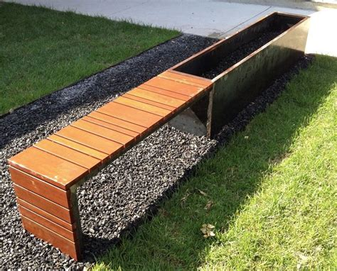 corten bench 1000 images about design resources outdoor on pinterest