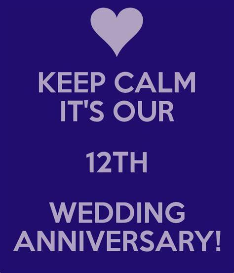 12th Wedding Anniversary Quotes. QuotesGram