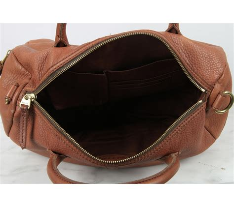 Sepatu Flat Fossil Hm fossil brown erin leather satchel