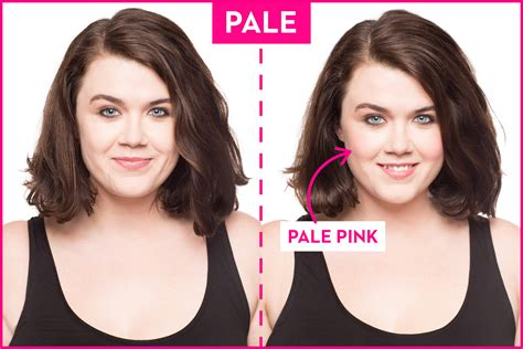 colors for pale skin the best blush colors for your skin tone how to a