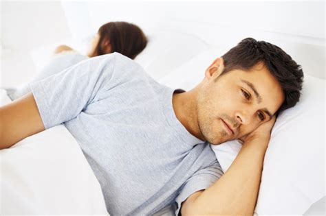 man in bed younger men have erectile dysfunction too