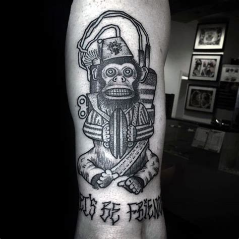 monkey bomb tattoo 40 call of duty ideas for designs