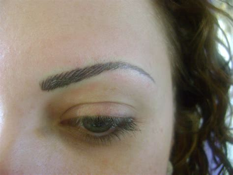 tattooed eyebrows eyebrow eyebrow tattooing