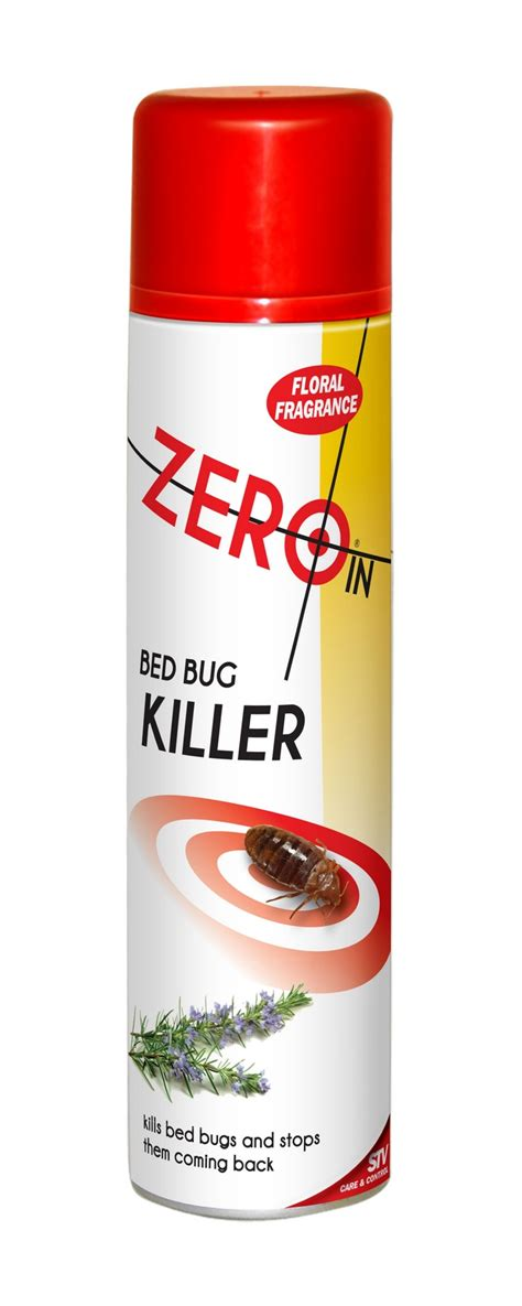 bed bug insecticide zero in bed bug killer aerosol spray insecticide to get