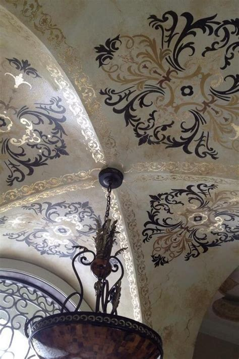 194 best stenciled and painted ceilings images on