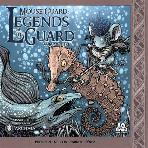Mouse Guard Legends Of The Guard Vol 1 Graphic Novel Ebooke Book exclusive preview mouse guard legends of the guard vol 3