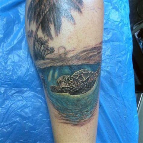 ocean tattoos for men 75 tattoos for serene shore designs