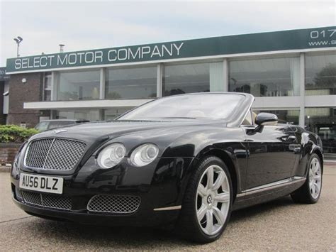 cheap bentley for sale used black bentley continental 2006 petrol gtc 6 0 2dr w12