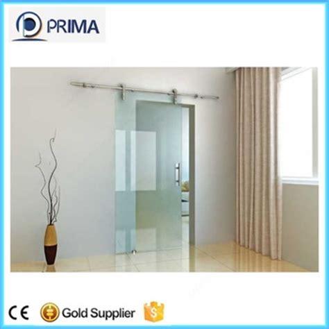 interior sliding door system modern style interior frameless glass sliding door system