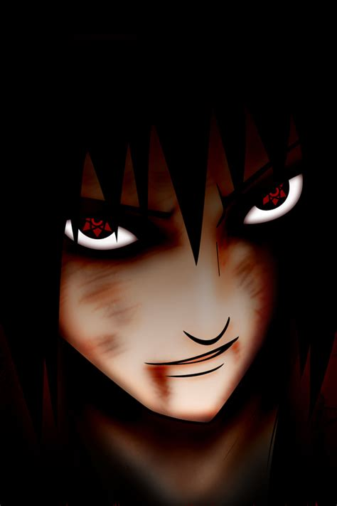 psp themes sharingan uchiha sasuke iphone 4 wallpapers 640x960 phone hd