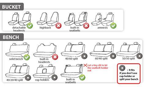 fabric car seat covers groupon goods