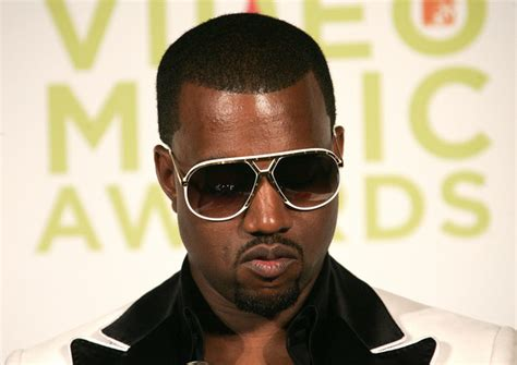 The Scoop On Kanye Wests Funky Sunglasses by Kanye West In 2005 Mtv Vma S Hosted By Diddy Press Room