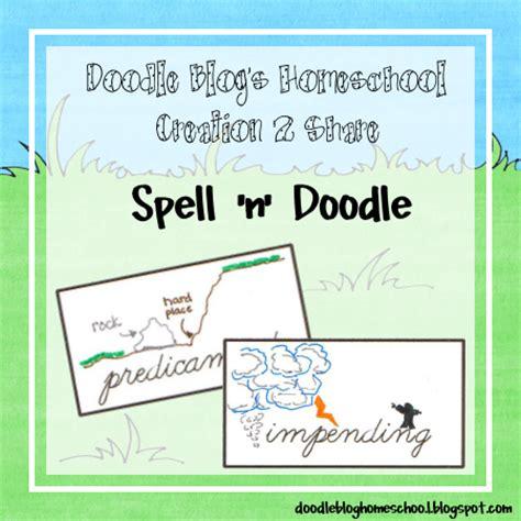 doodle 4 lesson plans doodle homeschool spell n doodle 26