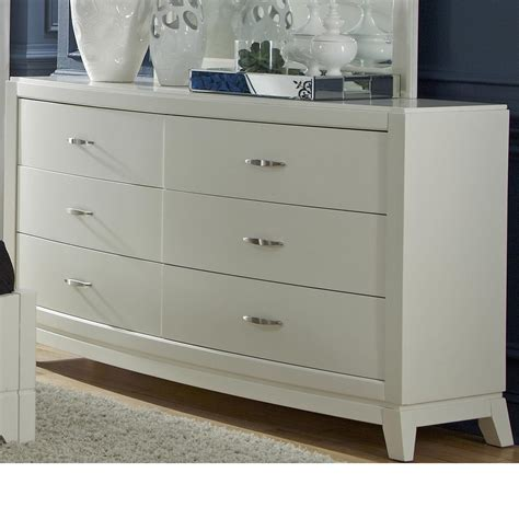 liberty furniture avalon dresser liberty furniture avalon ii 6 drawer dresser with tapered