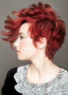 redhead women with spiked mohawk women s faux hawk short hair short hair cuts pinterest