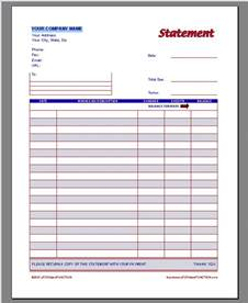 Invoice Statement Template Free Invoice Template Invoice Templates Word Invoice Template