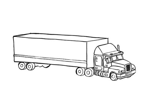 car transporter coloring page car carrier coloring pages