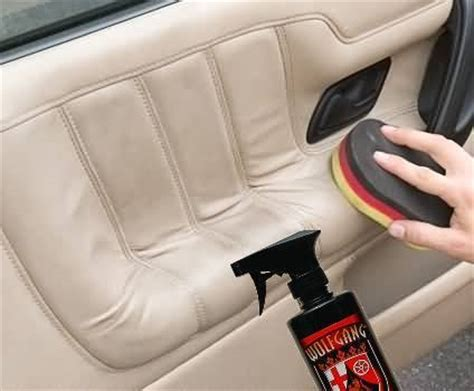 Home Products To Clean Car Interior by How To Clean Leather Vehicle Seats