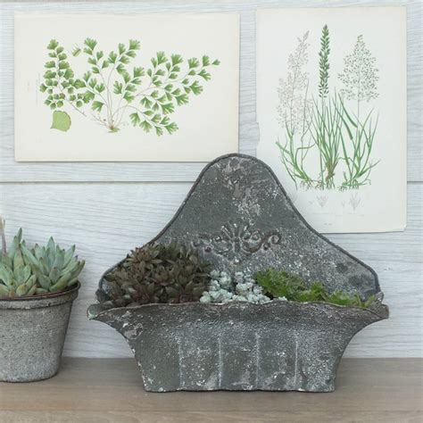Vintage Wall Planters by Antique Style Wall Planter By Magpie Living