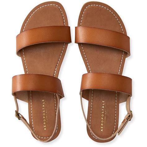 Two Slide Sandals Brown by Aeropostale Sling Back Sandal 12 Liked On