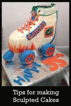 How To Decorate Roller Skates by Roller Skate Cake On Skating Cake Disco