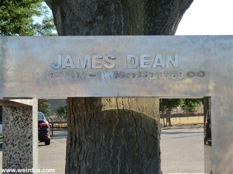 james dean memorial weird california