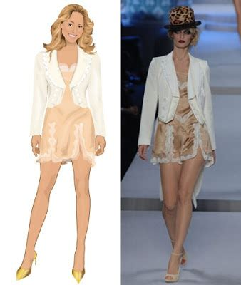 Careys The Runway Look by Seen On Stardoll Dress Jacket Carey